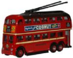 NQ1001 Oxford Diecast Q1 Trolleybus London Transport